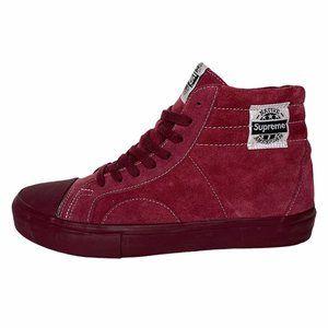 Supreme x Vans Collab Rare Suede Sk8-Hi Shoes 9.5
